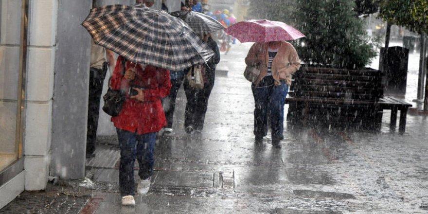 Meteoroloji'den yağış uyarısı 17 Temmuz 2017