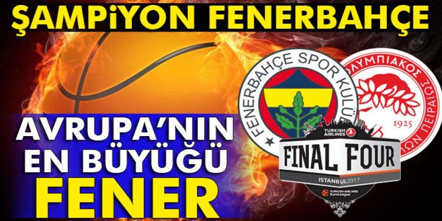 Fenerbahçe Basketbol'da Avrupa Şampiyonu Oldu!