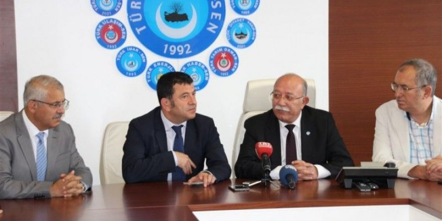 CHP Heyeti'nden Türkiye Kamu-Sen'e Ziyaret