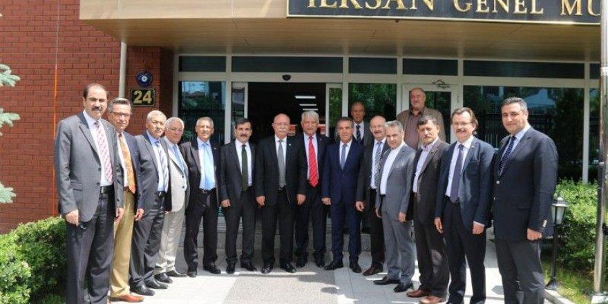 Türkiye Kamu-Sen'den İLKSAN'a Hayırlı Olsun Ziyareti