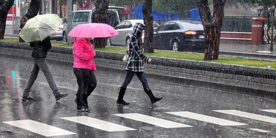 Meteoroloji'den yağış uyarısı 26 Eylül 2017