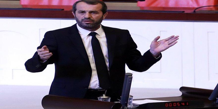 Saffet Sancaklı'dan mecliste Arda Turan ve Yıldırım Demirören'e ağır sözler!