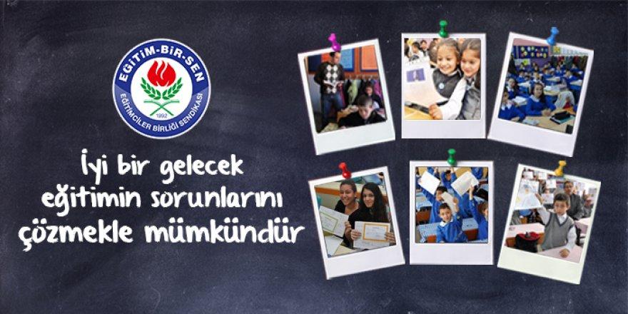 Eğitim-Bir-Sen'den 2016-2017 Yıl Sonu Değerlendirmesi