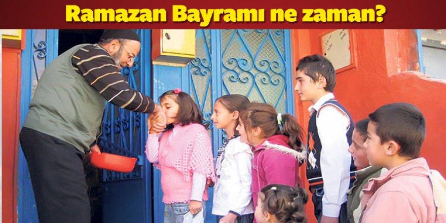 Ramazan Bayram ne zaman başlıyor ne zaman bitiyor?
