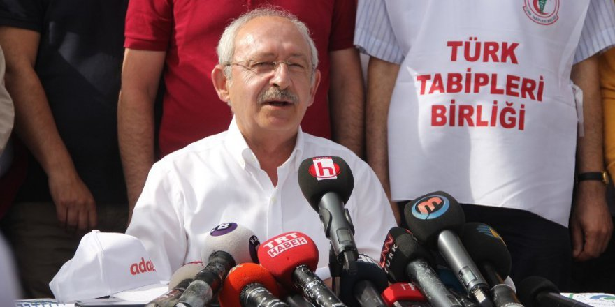 Kılıçdaroğlu: Yürüyüş 80 milyonu ilgilendiren bir olaydır
