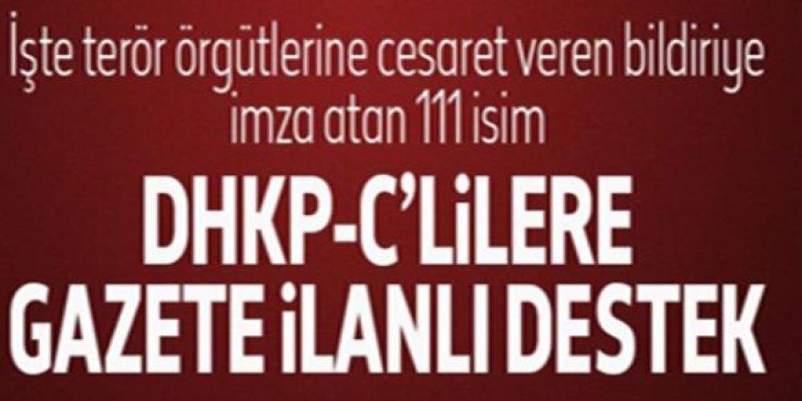 Nuriye Gülmen ve Semih Özakça için 111 isimden bildiri - İşte o isimler