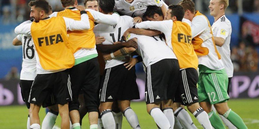 FIFA Konfederasyonlar Kupası'nda şampiyon Almanya