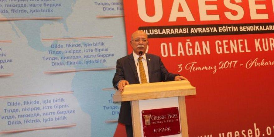 Uluslararası Avrasya Eğitim Sendikaları Birliği 2. Olağan Genel Kurulu Ankara'da Yapıldı