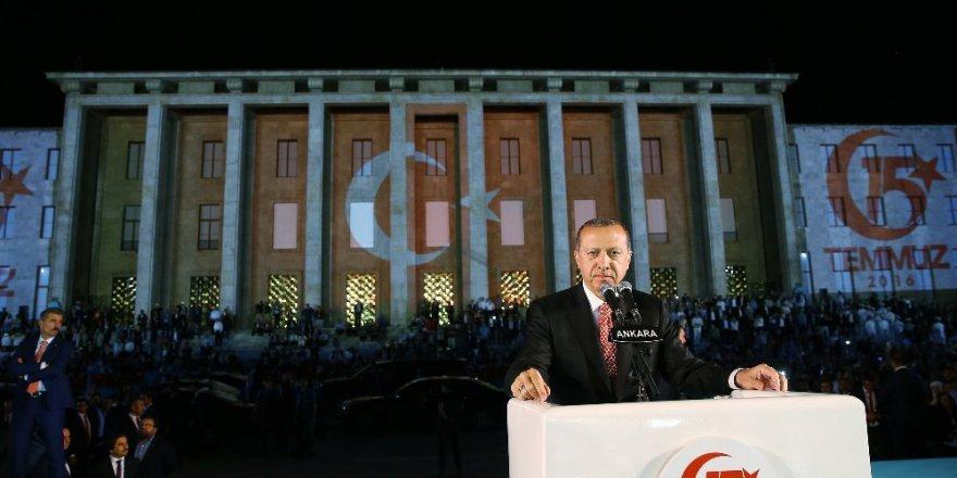 Cumhurbaşkanı Erdoğan: 40 yıllık planı 20 saatte bozduk
