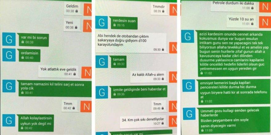 Kılıçdaroğlu'nu hedef alan DAEŞ'lıların şok mesajlaşmaları