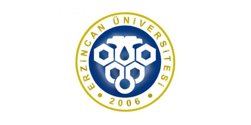 Erzincan Üniversitesi öğretim üyesi alım ilanı