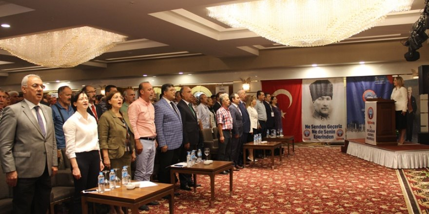 Eğitim-İş V. Olağan Genel Kurulu Ankara'da gerçekleştirildi.