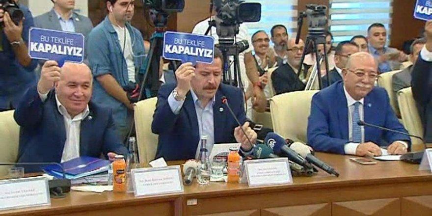 Ali Yalçın: Biz bu teklifi müzakere etmeyeceğiz.