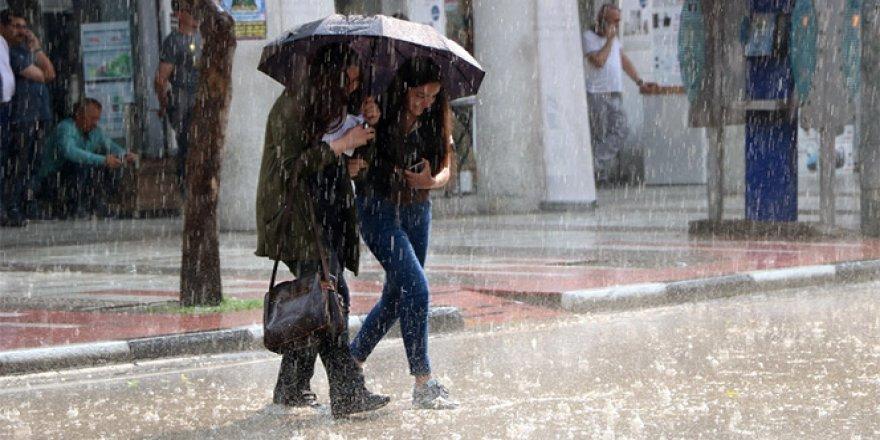 İstanbul'da sağanak uyarısı 16 Ağustos 2017 yurtta hava durumu