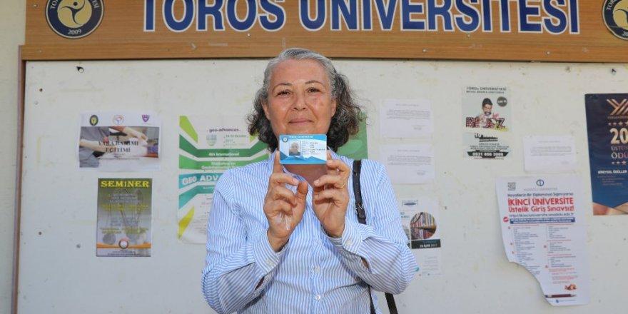 Şehit annesi 37 yıl sonra hayaline ulaştı