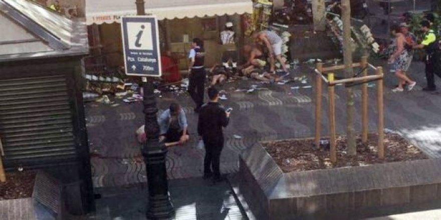 Barcelona'da terör saldırısı: 13 ölü