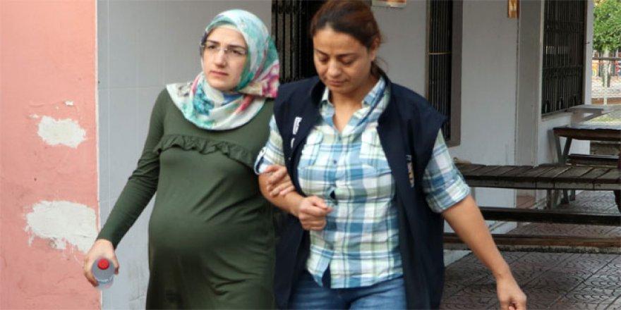 FETÖ şüphelisi hamile kadın talimatla serbest