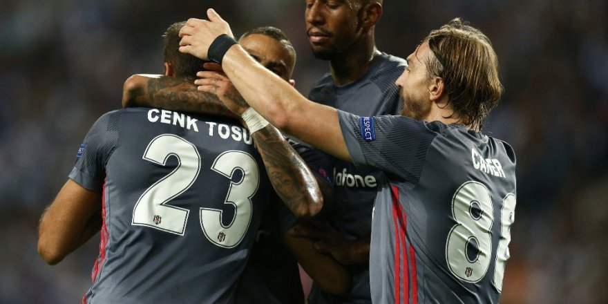Beşiktaş Porto'yu 3-1'le Geçti