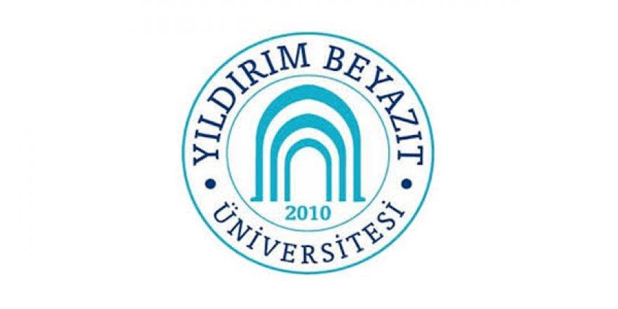 Yıldırım Beyazıt Üniversitesi Öğretim Elemanı Alım İlanı