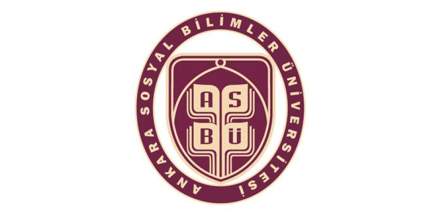 Ankara Sosyal Bilimler Üniversitesi Öğretim Üyesi Alım İlanı