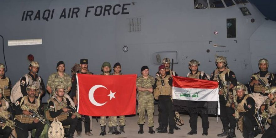 TSK - Irak Güçlerinden Sınırda Ortak Tatbikat