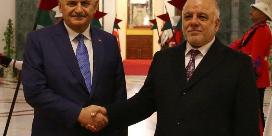 Başbakan Yıldırım, Irak Başbakanı el İbadi ile görüştü