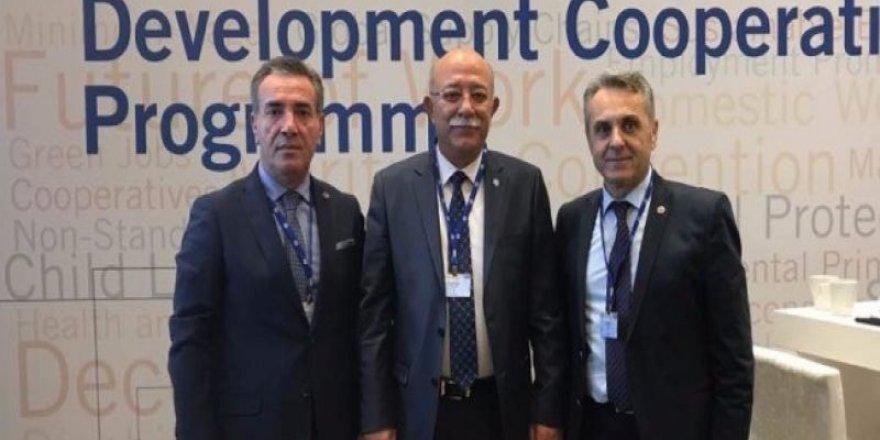 İsmail Koncuk, ILO 10. Bölge Toplantısı'nda Konuştu