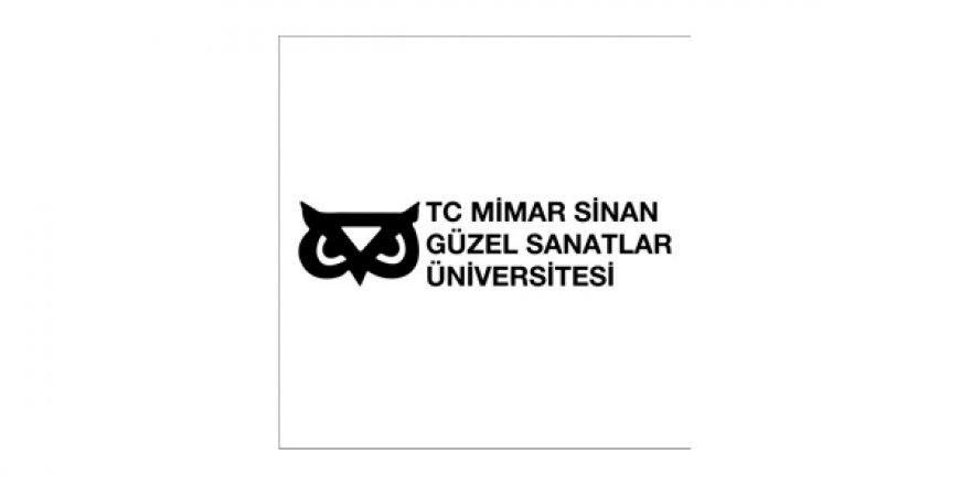 Mimar Sinan Güzel Sanatlar Üniversitesi Sözleşmeli Personel Alım İlanı