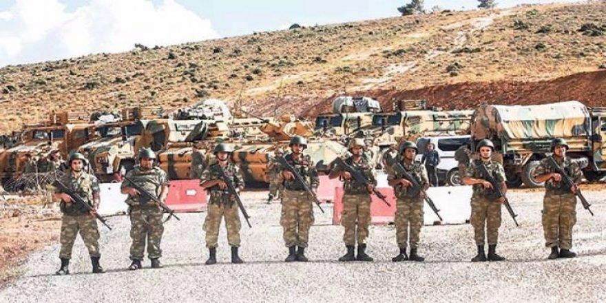 O bölgede kontrol artık Türk askerinde