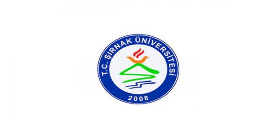 Şırnak Üniversitesi Öğretim Elemanı Alım İlanı