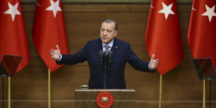 Cumhurbaşkanı Erdoğan, 40. Muhtarlar Toplantısı'nda konuştu