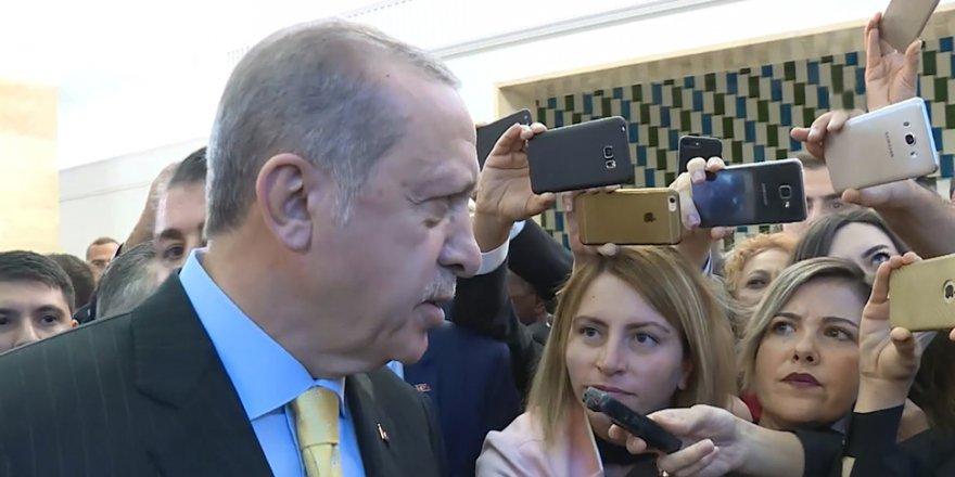 Erdoğan'dan 'Erken seçim' sorusuna net yalanlama