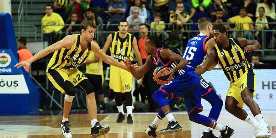 Avrupa Ligi'nde Türk derbisinin galibi Fenerbahçe Doğuş