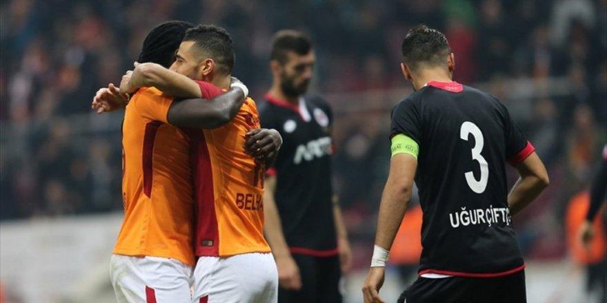 Galatasaray, Gençlerbirliği'ni farklı yendi: 5-1