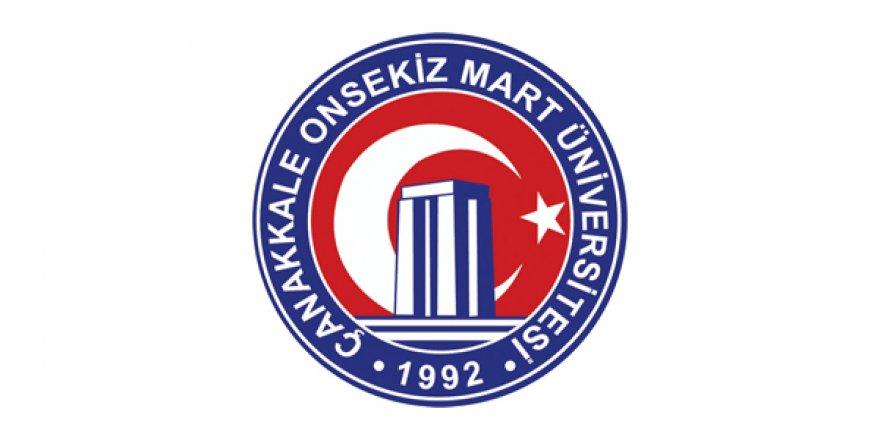Çanakkale Onsekiz Mart Üniversitesi öğretim üyesi alım ilanı