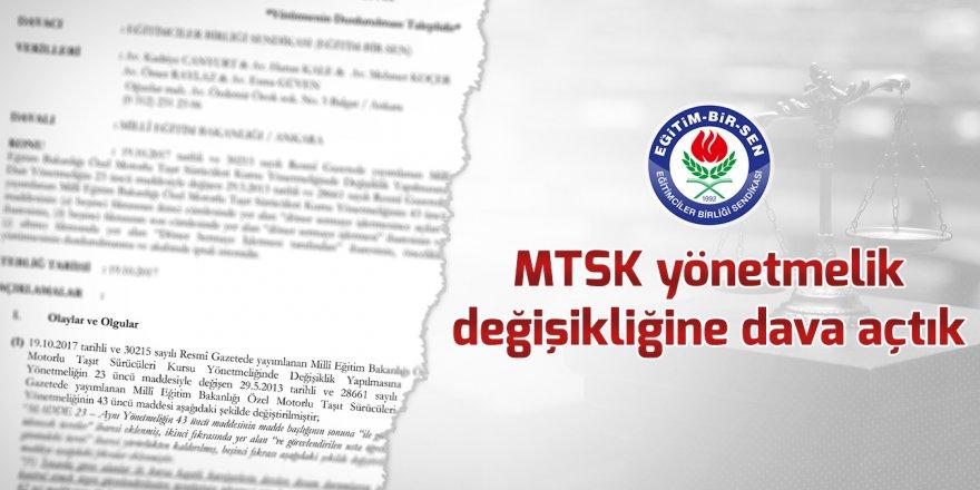 Eğitim-Bir-Sen, MTSK Yönetmeliğine Dava Açtı