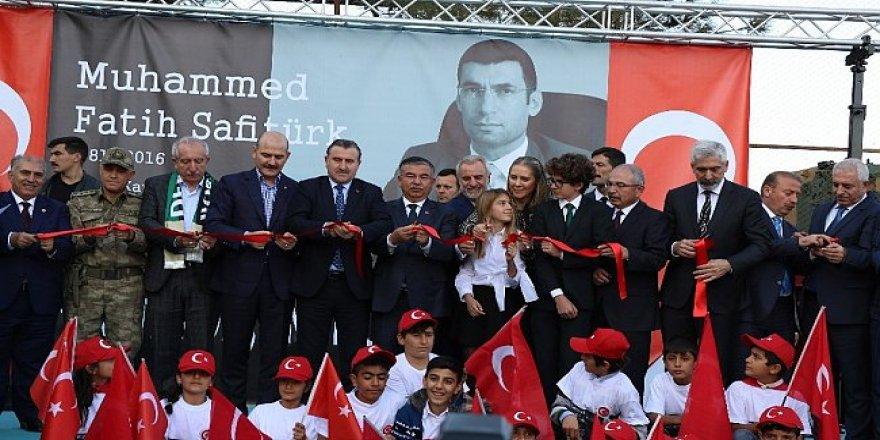 Şehit Kaymakam Safitürk Anadolu Lisesi, Vefatının Yıl Dönümünde Açıldı