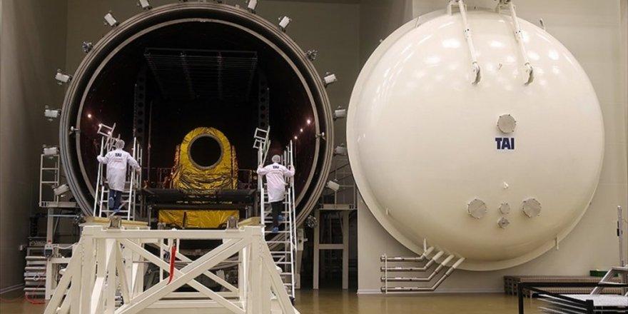 Türkiye'nin ilk uydu merkezi ilk kez görüntülendi