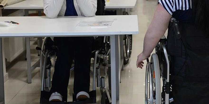 ÖSYM'den engelli adaylara 81 ilde hizmet