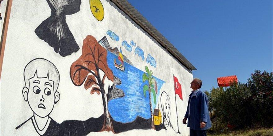 'Picasso Mustafa' köyünü sanat galerisine dönüştürdü