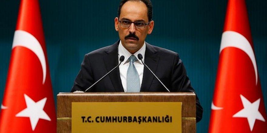 Cumhurbaşkanlığı Sözcüsü Kalın'dan 'Kudüs' açıklaması