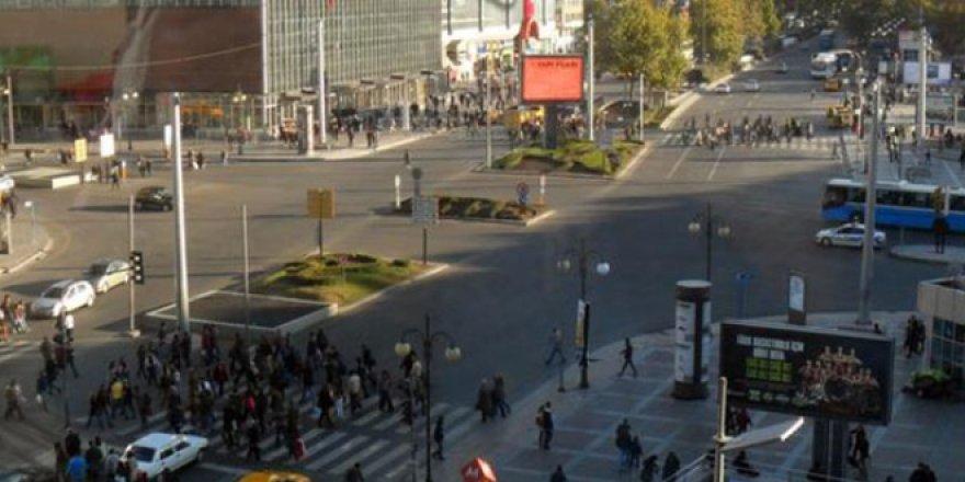 Ankara'da 3 gün boyunca yürüyüş ve oturma eylemi yasak