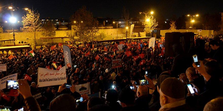 Türkiye Kudüs için ayakta