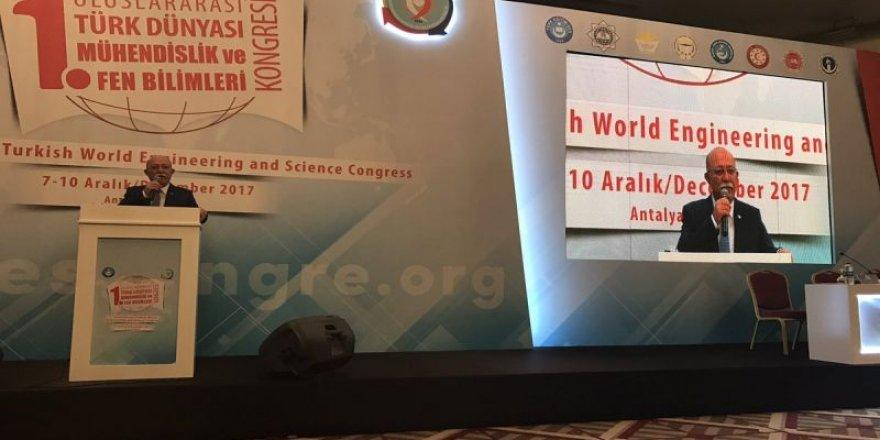 Uluslararası Türk Dünyası Mühendislik ve Fen Bilimleri Kongresi başladı