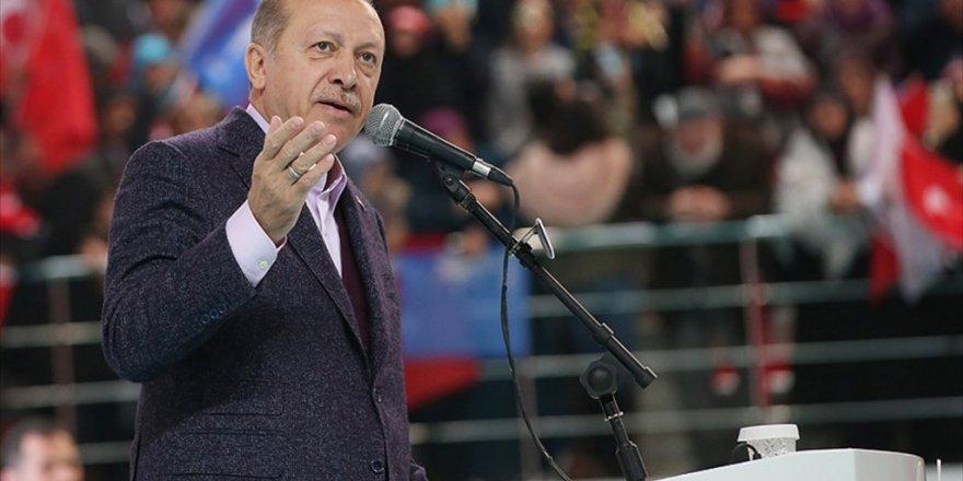 Erdoğan: Kudüs'ü çocuk katili bir ülkenin insafına terk etmeyeceğiz