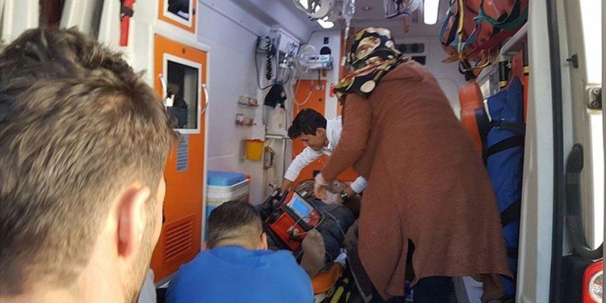 PYD'li teröristler Şanlıurfa'da işçiyi yaraladı