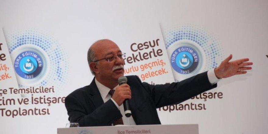 Eğitim ve İstişare Toplantısı, Antalya'da yapıldı