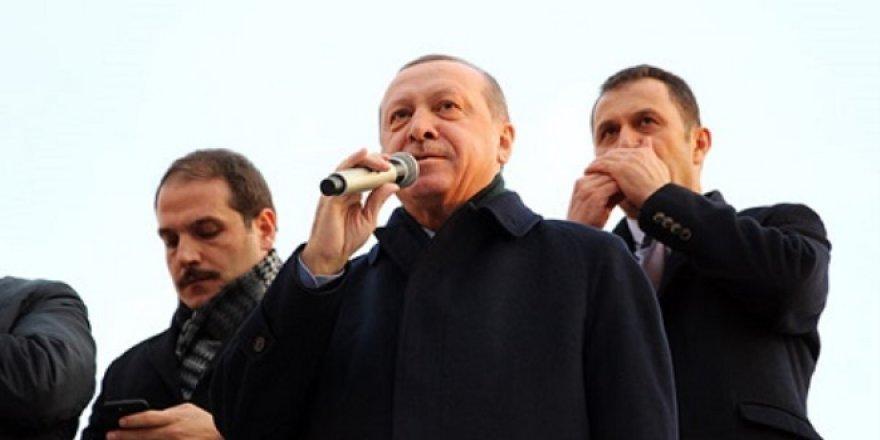 Cumhurbaşkanı Erdoğan: Tek silahları, iftira