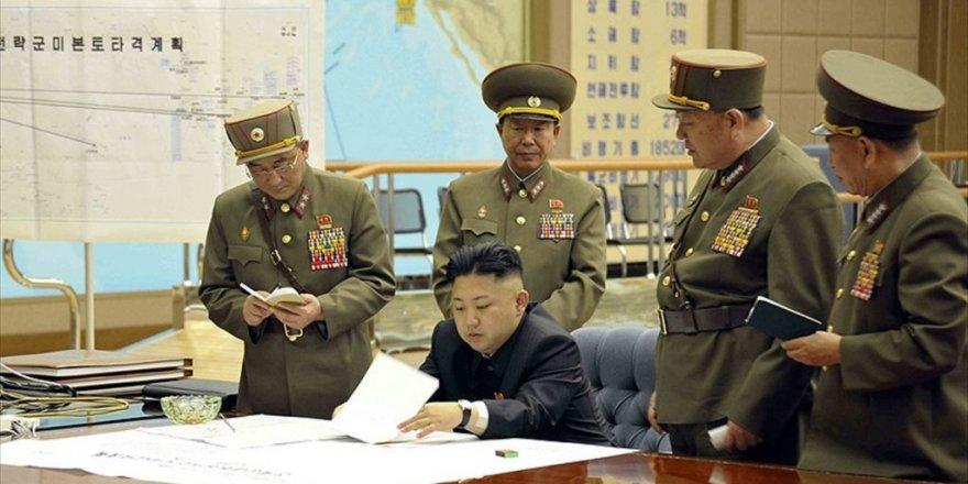 Kuzey Kore lideri Kim'den yeni yıl mesajında ABD'ye nükleer tehdit