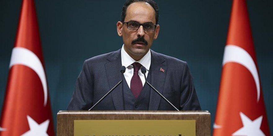 Cumhurbaşkanlığı Sözcüsü Kalın'dan kabine değişikliği açıklaması